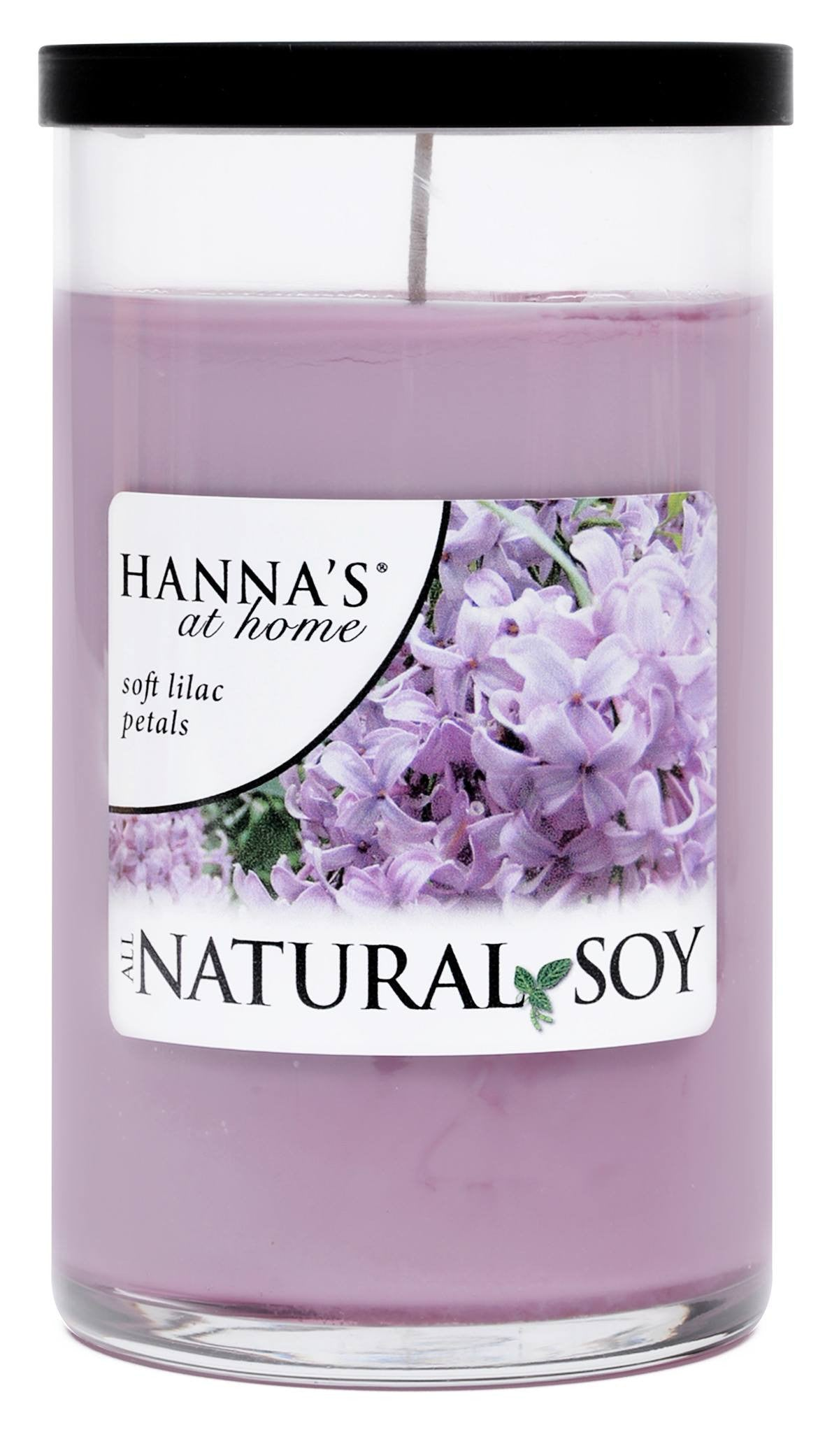 Natural Soy Soft Lilac Petals Scented Soy Candle - Candlemart.com - 2
