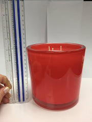 Pacific Redwood Luxury 32oz Coral Glass Candle