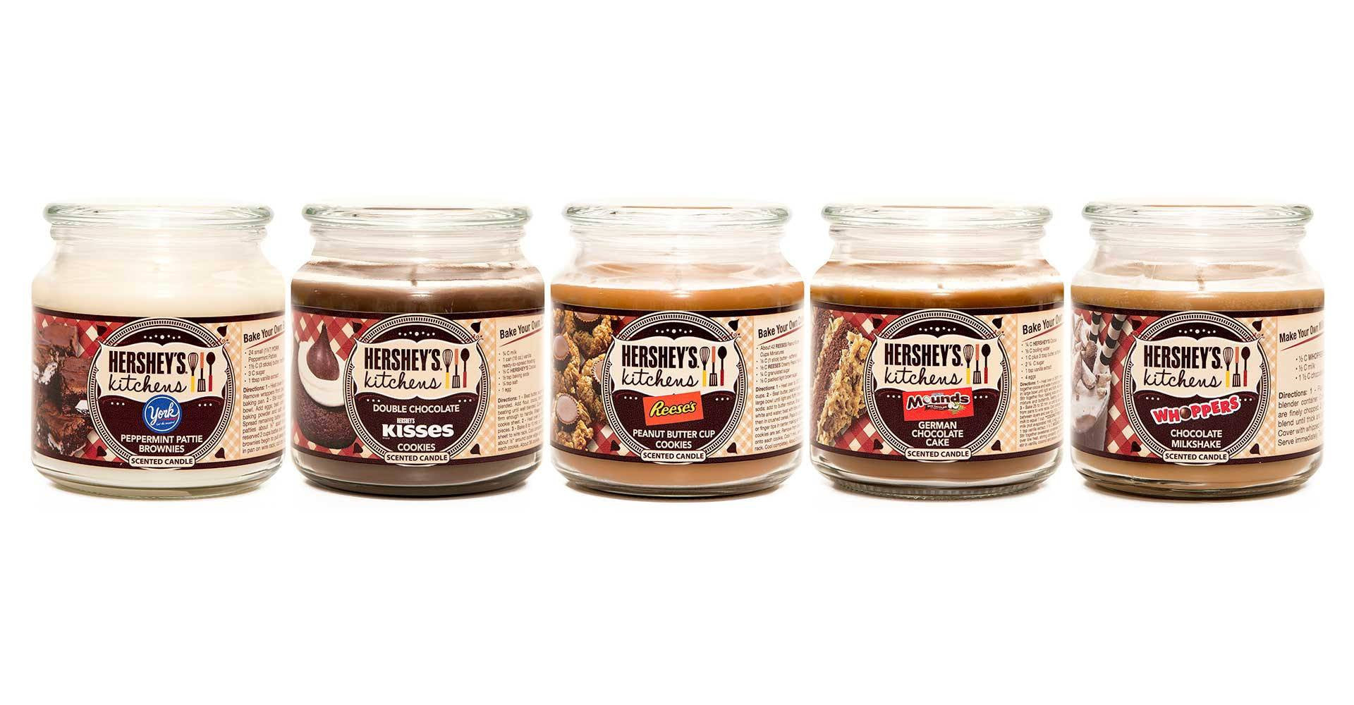 Hershey's Whoppers Chocolate Milkshake Scented Wax Candle - Candlemart.com