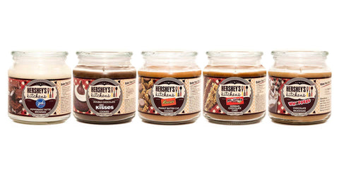 Hershey's Kisses Double Chocolate Cookies Scented Wax Candle - Candlemart.com