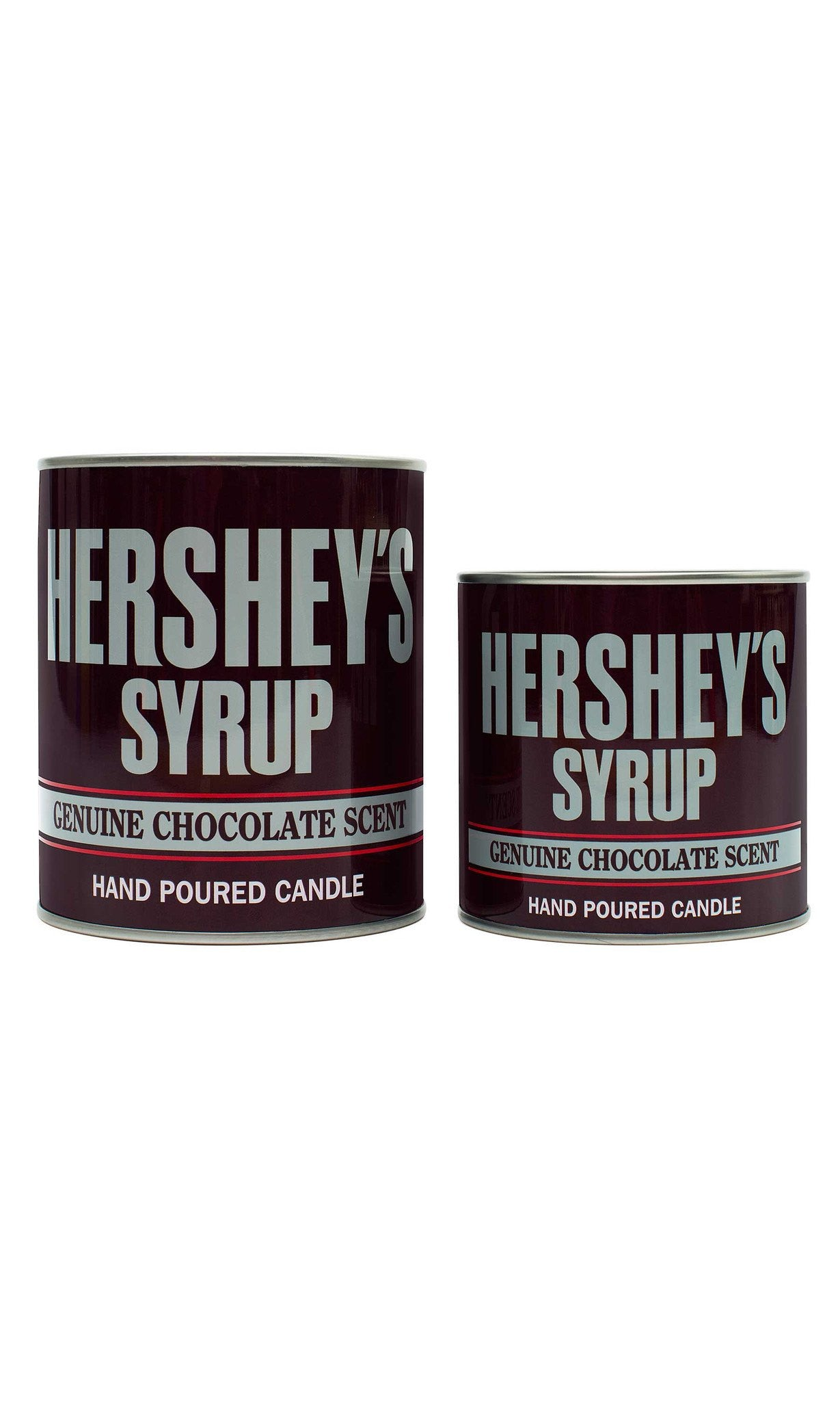 HERSHEY'S Chocolate Syrup Small Collectible Tin Candle - Candlemart.com - 3