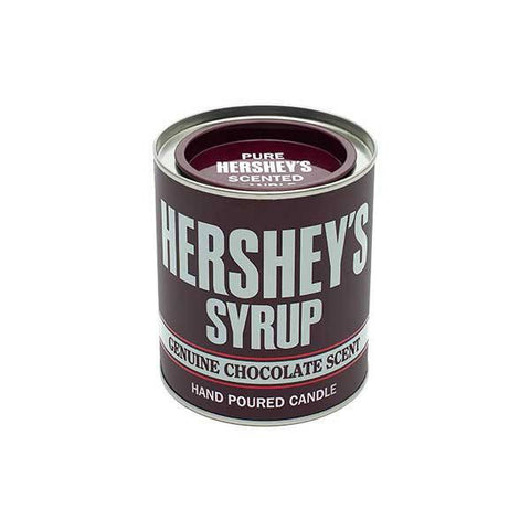 HERSHEY'S Chocolate Syrup Large Collectible Tin Candle Candles Candlemart.com $ 12.99