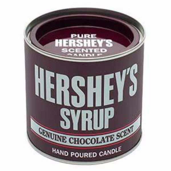 HERSHEY'S Chocolate Syrup Small Collectible Tin Candle - Candlemart.com