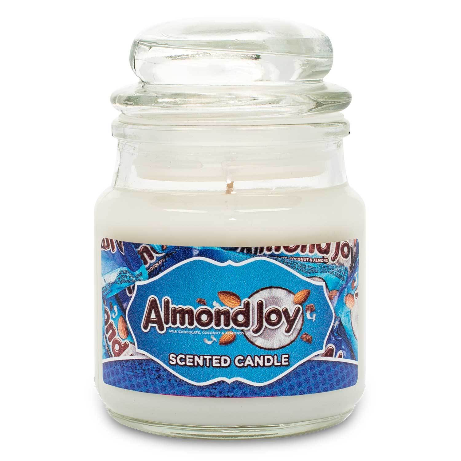 HERSHEY'S Almond Joy Scented Mini Candle Candles Candlemart.com $ 2.99