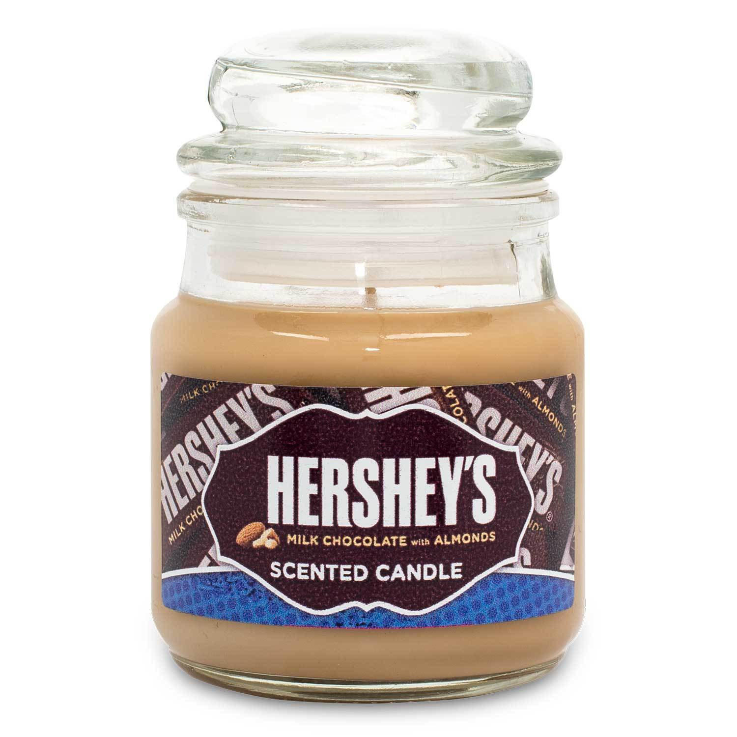HERSHEY'S Milk Chocolate with Almonds Scented Mini Candle Candles Candlemart.com $ 2.99