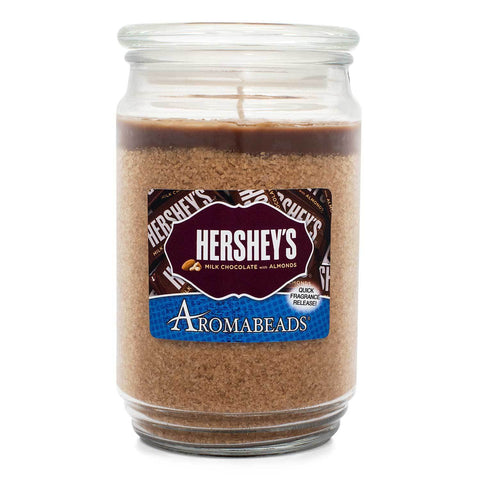 Aromabeads HERSHEY'S Milk Chocolate with Almonds Scented Candle Aromabeads Candlemart.com $ 9.99