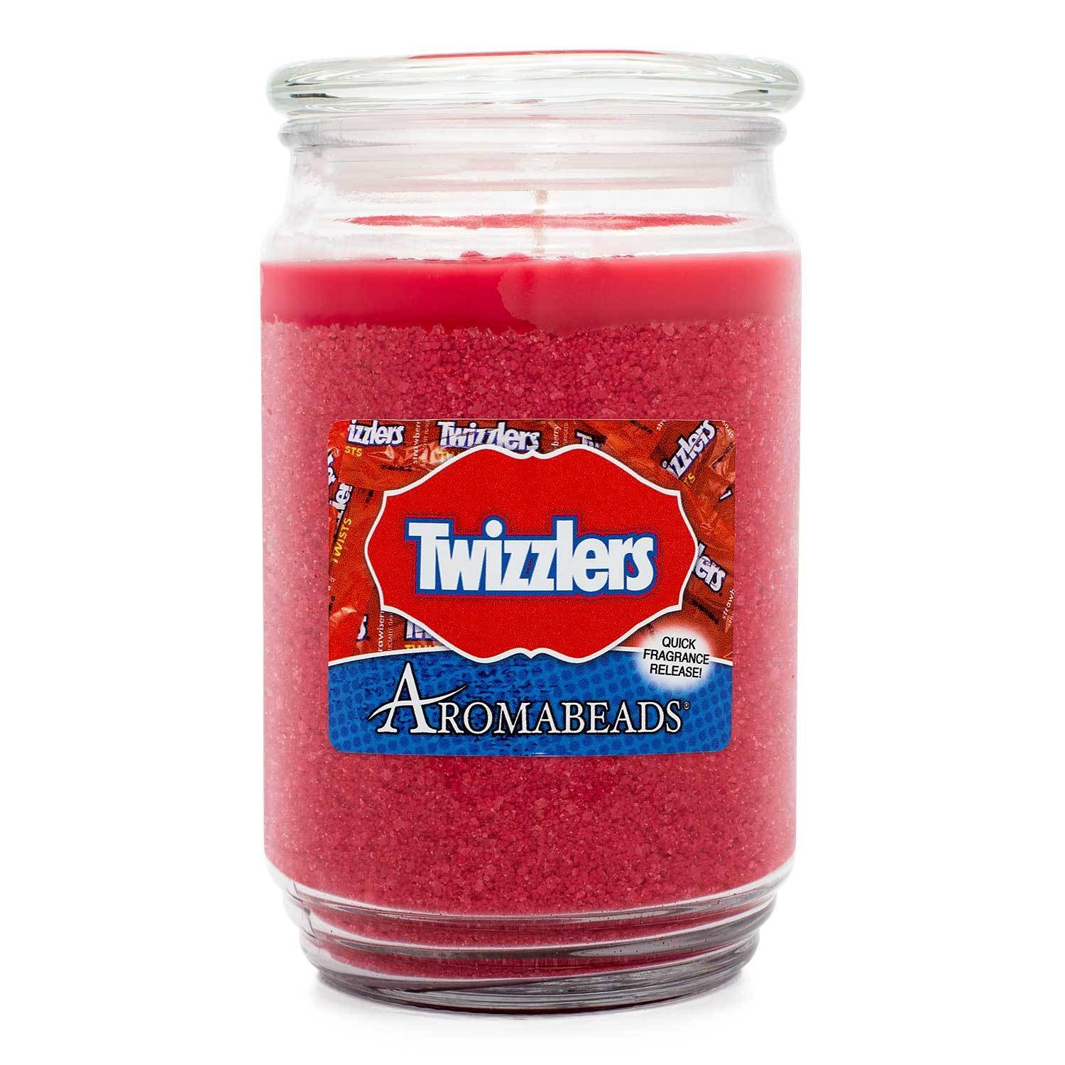 Aromabeads HERSHEY'S Twizzlers Scented Candle Aromabeads Candlemart.com $ 9.99