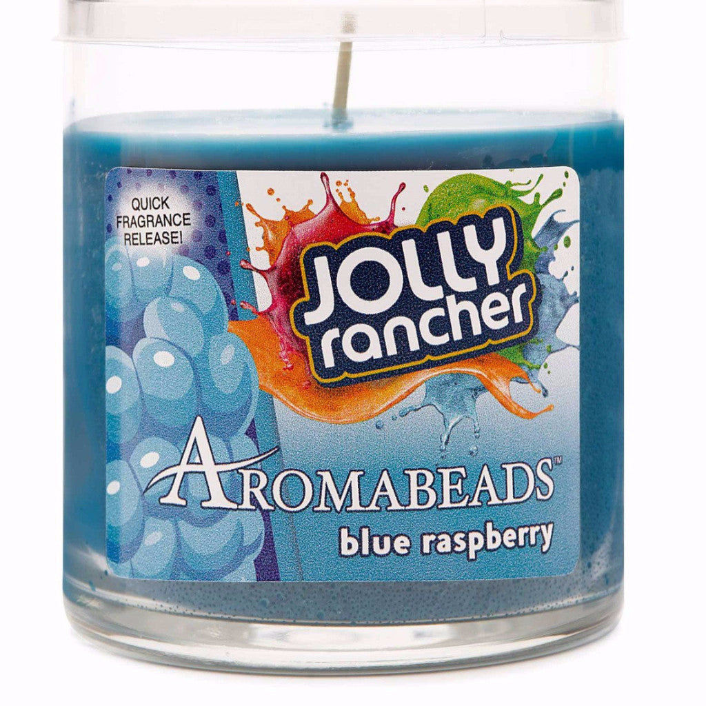 Jolly Rancher Blue Raspberry Scented Aromabeads Candle - Candlemart.com