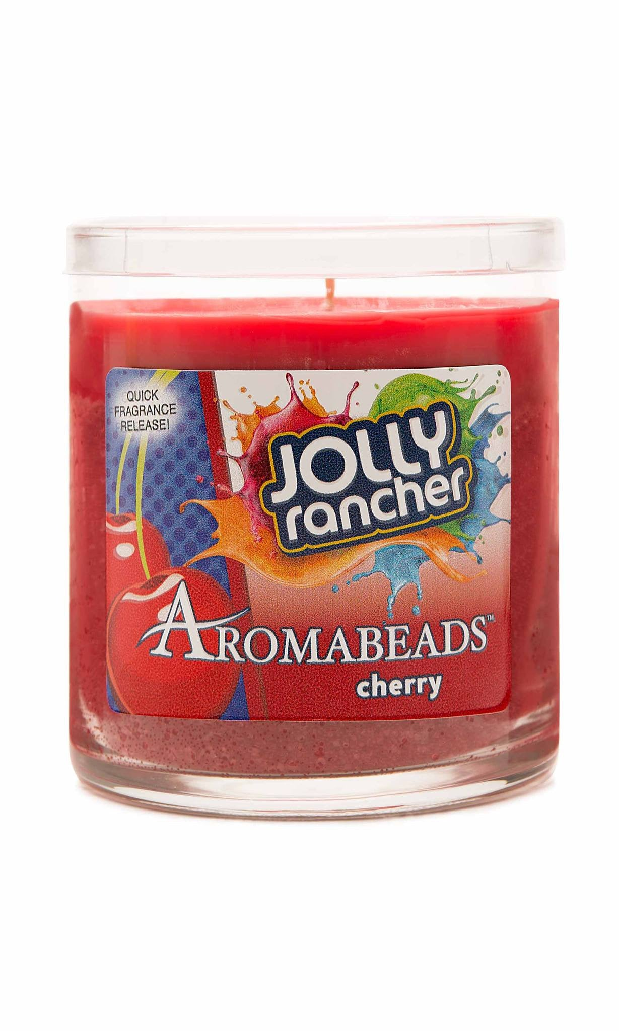 Jolly Rancher Cherry Scented Aromabeads Candle - Candlemart.com