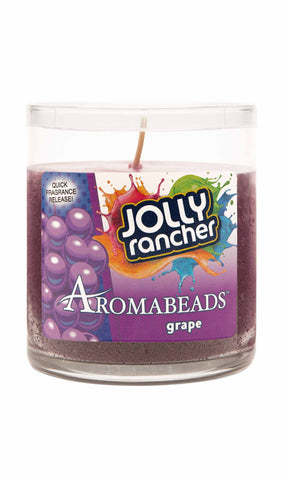 Jolly Rancher Grape Scented Aromabeads Candle - Candlemart.com