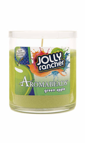 Jolly Rancher Green Apple Scented Aromabeads Candle - Candlemart.com