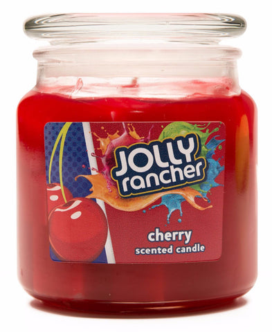 Jolly Rancher Cherry Scented Jel Candle Jel Candles Candlemart.com $ 9.99
