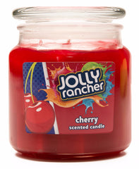Jolly Rancher Cherry Scented Jel Candle - Candlemart.com