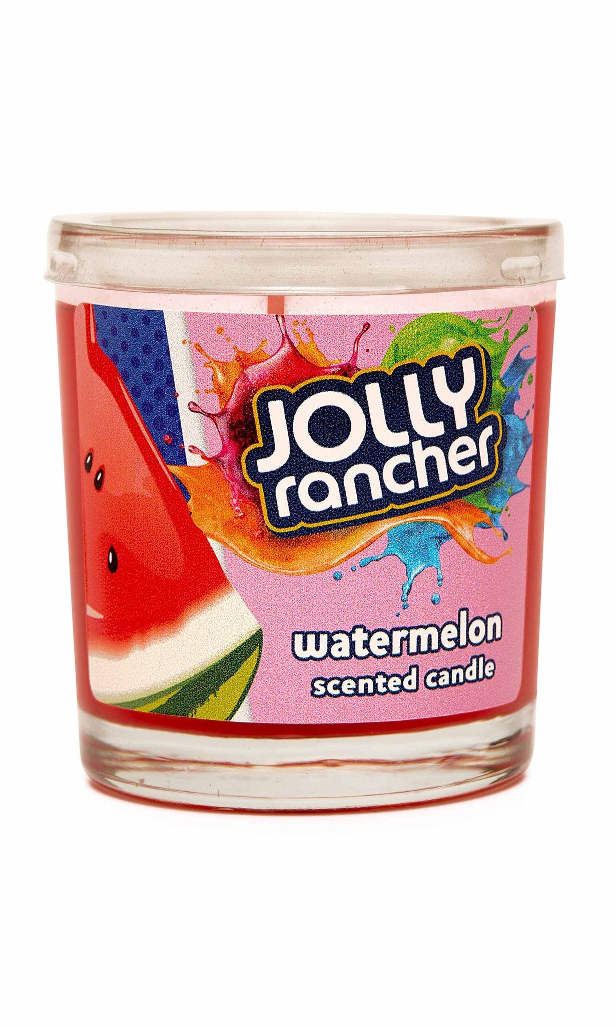 Jolly Rancher Watermelon Scented Jel Candle - Candlemart.com