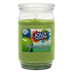 Aromabeads Jolly Rancher Green Apple Scented Candle