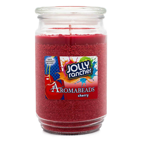 Aromabeads Jolly Rancher Cherry Scented Candle Aromabeads Candlemart.com $ 9.99