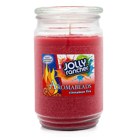 Aromabeads Jolly Rancher Cinnamon Fire Scented Candle Aromabeads Candlemart.com $ 9.99