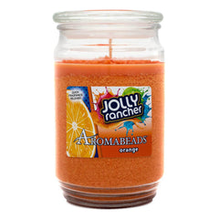 Jolly Rancher Orange Scented Aromabeads Candle