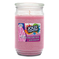 Jolly Rancher Pink Lemonade Scented Aromabeads Candle