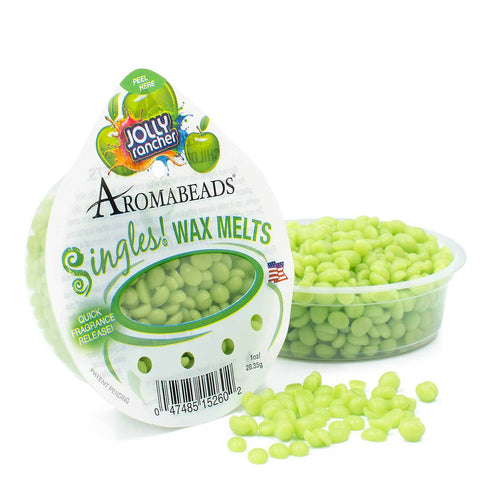 Aromabeads Singles JOLLY Rancher Green Apple Wax Melts Melts Candlemart.com $ 1.49
