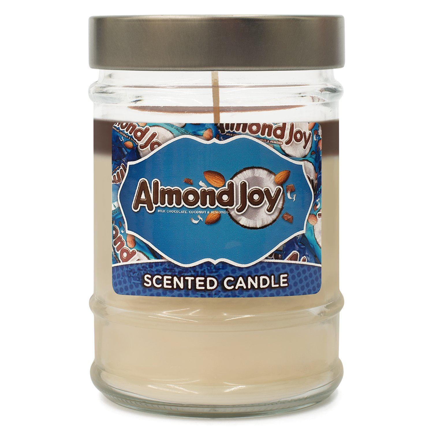 HERSHEY'S Almond Joy Scented Canister Jar Candle-SECONDS Candles Candlemart.com $ 5.99