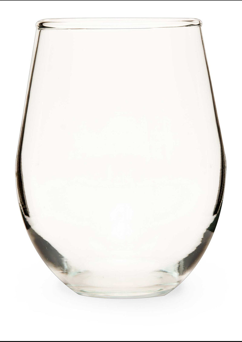 Stemless Wine Glass - Candlemart.com