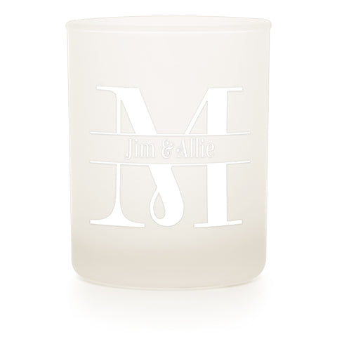 Frosted Tumbler - Candlemart.com