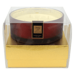 Holiday Spice Luxury 36oz Red Glass Candle-SECONDS