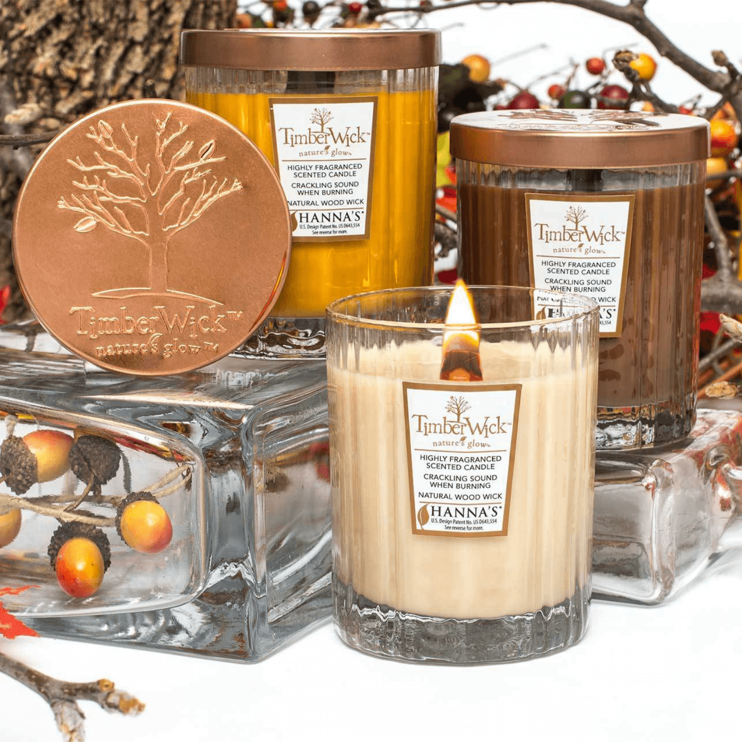 Timberwick Tumbler 3-pack Scented Wax Candles