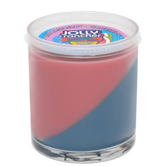 Jolly Rancher Awesome Twosome Blue Raspberry-Watermelon Scented Diagonal Candle - Candlemart.com - 1