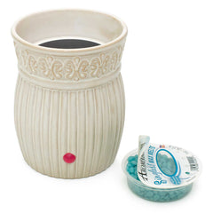 Aromabeads Singles Ivory Warmer and Melts Gift Set