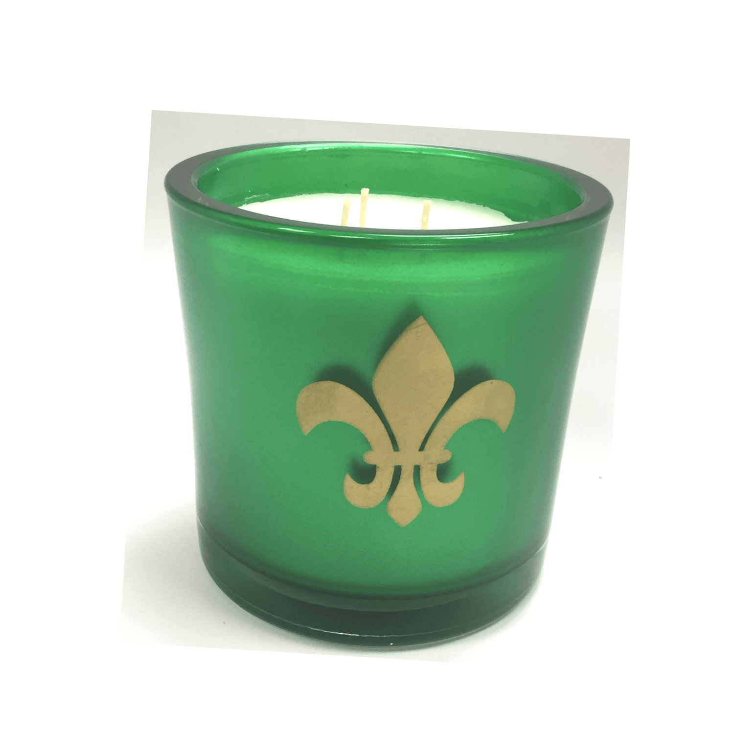 Garden District Mornings Luxury 32oz Green Glass Tumbler - Candlemart.com