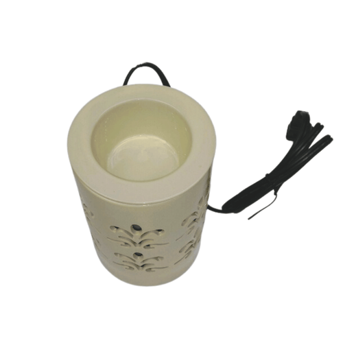 Ivory Ceramic Electric Bulb Melt Warmer