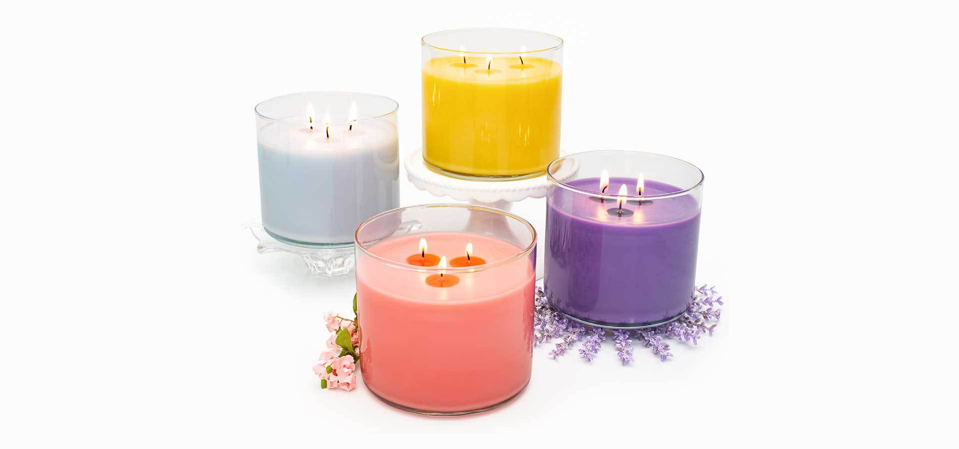 christmas melts and candles