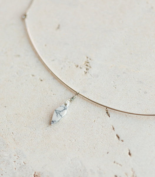 On A Wire Necklace