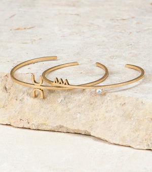 Lucky in Life Cuff Set