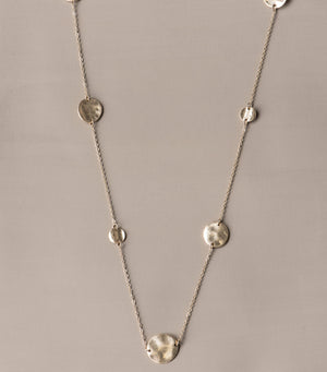 Alternating Disc Necklace