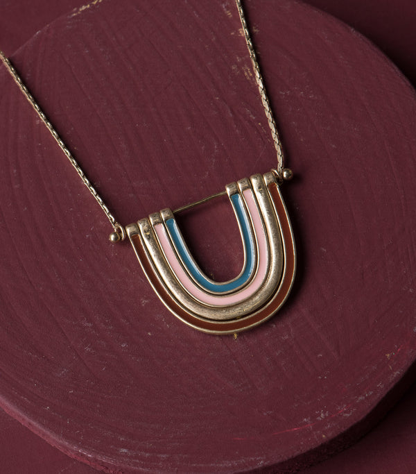 Under the Rainbow Necklace