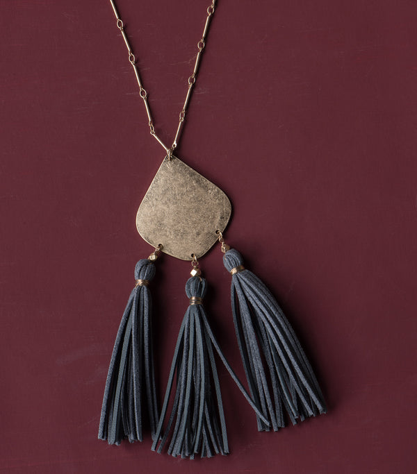 Tassel Trio Necklace