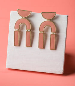 Sun Kissed Geo Earrings