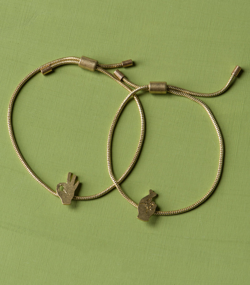One For You, One For Me Bracelet Set