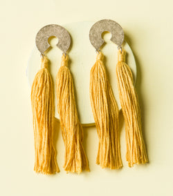 Queen Tassel Earrings