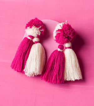 Match Maker Tassel Earrings