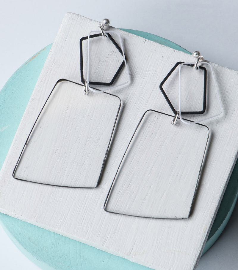 Glass House Earrings