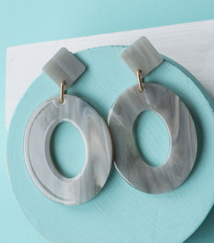 Marble Swoon Hoops