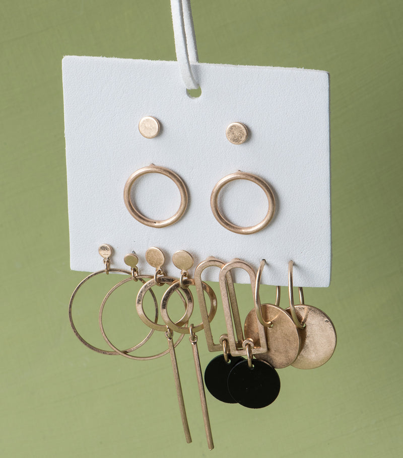Grand Stand Earring Set