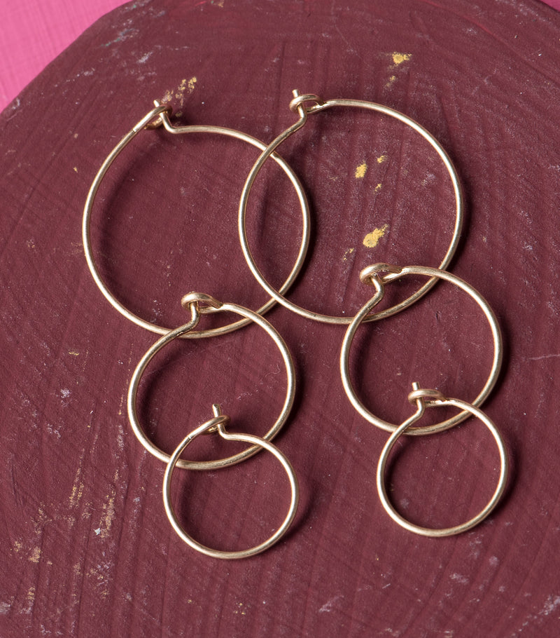 Jump Through Hoops Earring Set