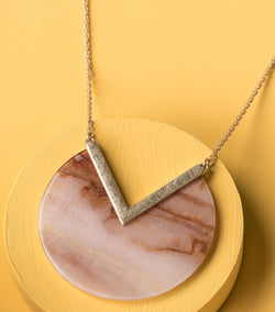 Slice of the Earth Necklace