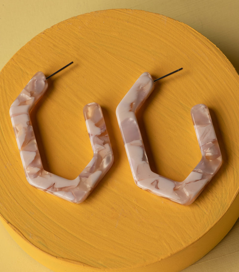 Strawberry Cream Hoops
