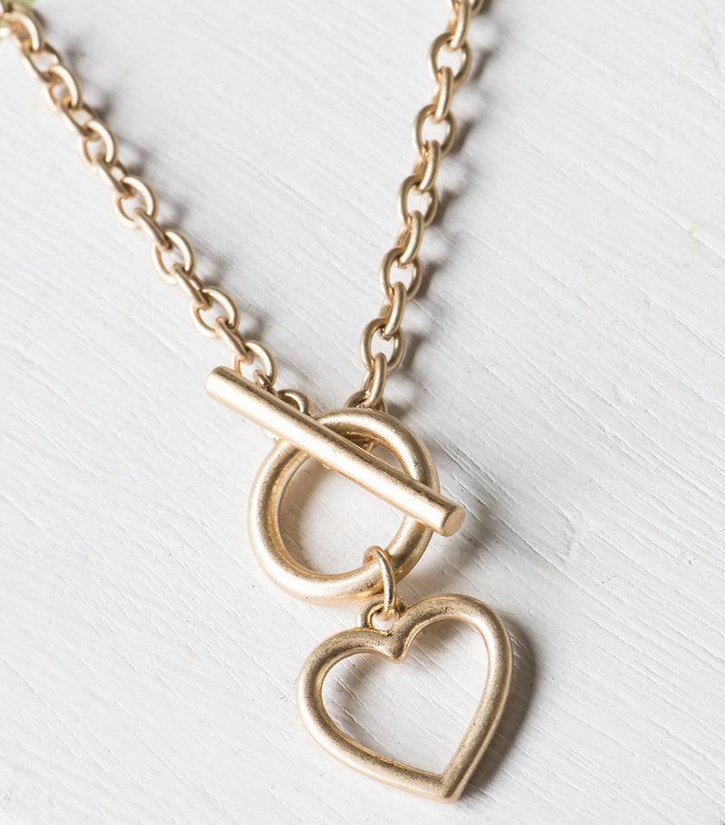 Toggle Love Necklace